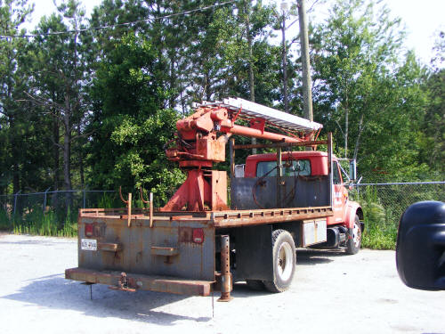 For Sell By Owner >> 1990 International 4600 Crane with 45' Ladder Skyhook ...